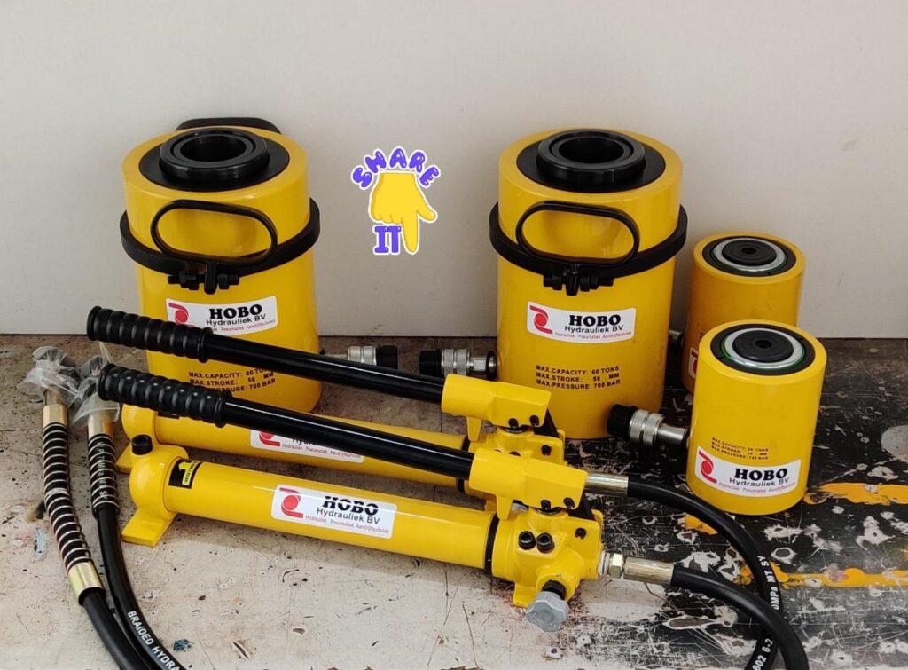 Handpompen en cilinders